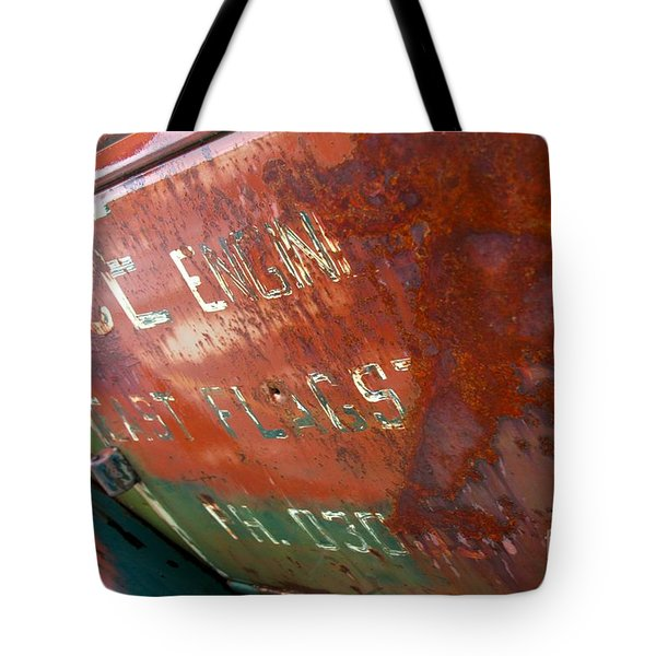 Flagstaff Throwback Tote Bag