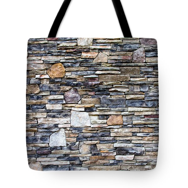 Flagstone Wall Tote Bag