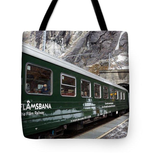 Flam Railway Tote Bag