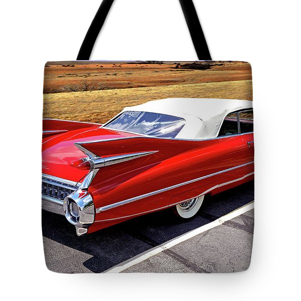 Flamboyant Fifty-nine Tote Bag