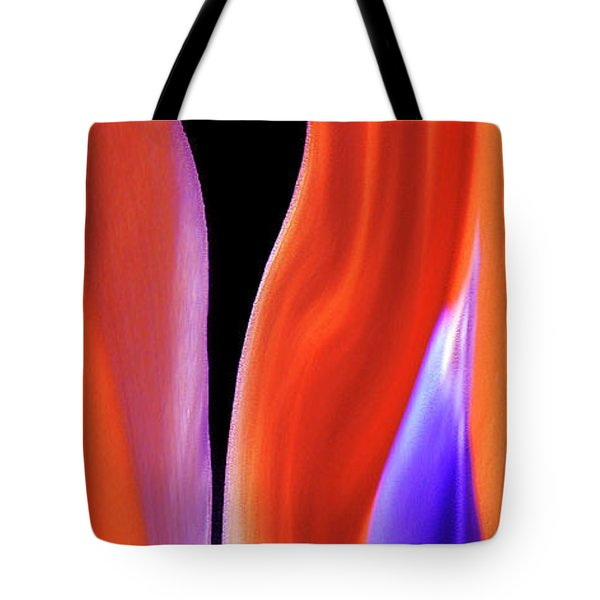 Flame - Bird Of Paradise   Tote Bag