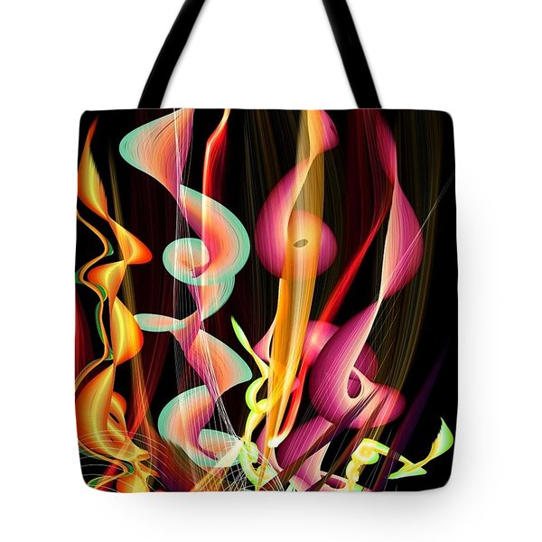 Flame By Nico Bielow Tote Bag by Nico Bielow