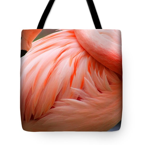 Flame Colored Tote Bag