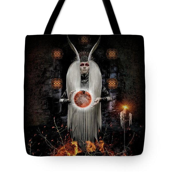 Flame Magick Tote Bag