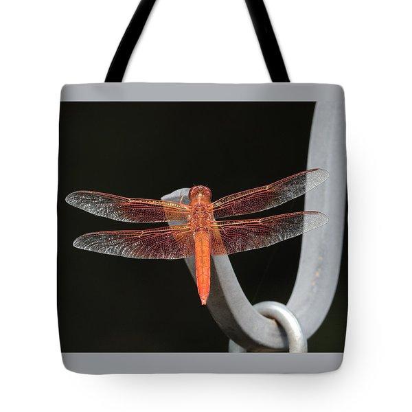 Flame Skimmer Tote Bag