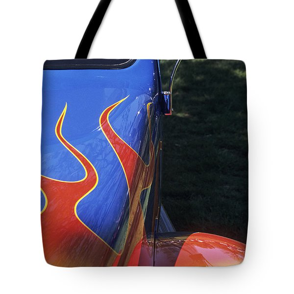 Flame Thrower Tote Bag