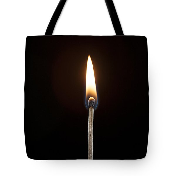 Flame Tote Bag by Tyson and Kathy Smith