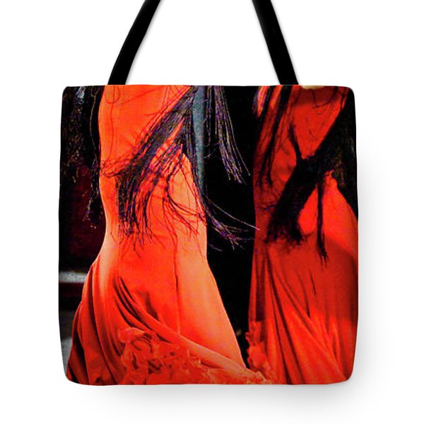 Tote Bag featuring the photograph Flamenco 38 by Catherine Sobredo
