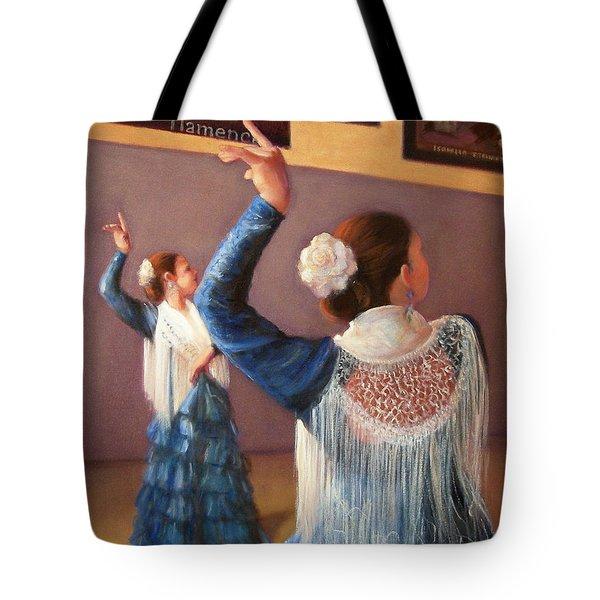 Flamenco 7 Tote Bag