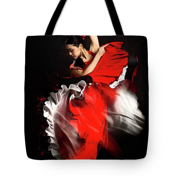 Flamenco Dancer - 01 Tote Bag