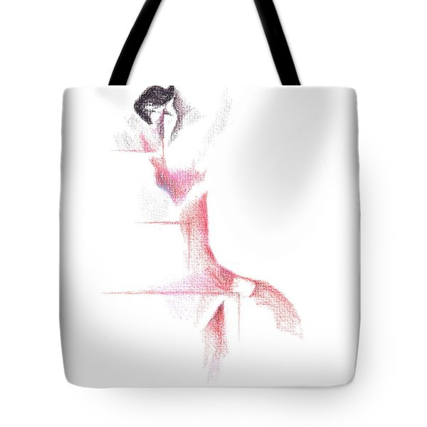 Flamenco Geometric Cc101 Tote Bag by Kip DeVore