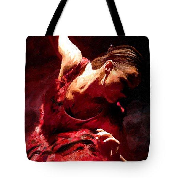 Flamenco Poise Tote Bag by James Shepherd