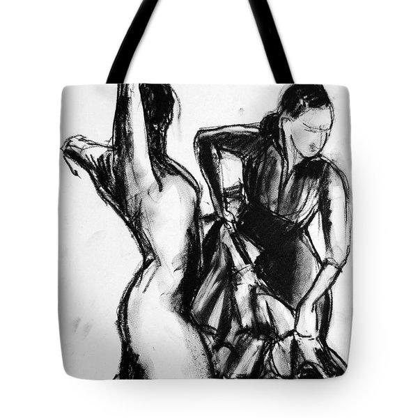 Flamenco Sketch 1 Tote Bag