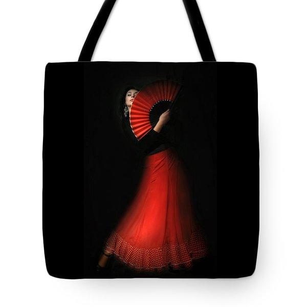 Flamenco Tote Bag by Viktor Korostynski