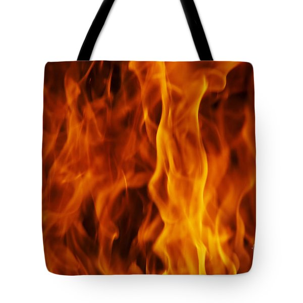 Flames Tote Bag by Michal Boubin