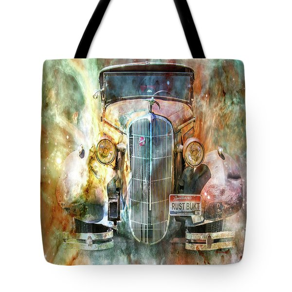 Flames Of Glory Tote Bag