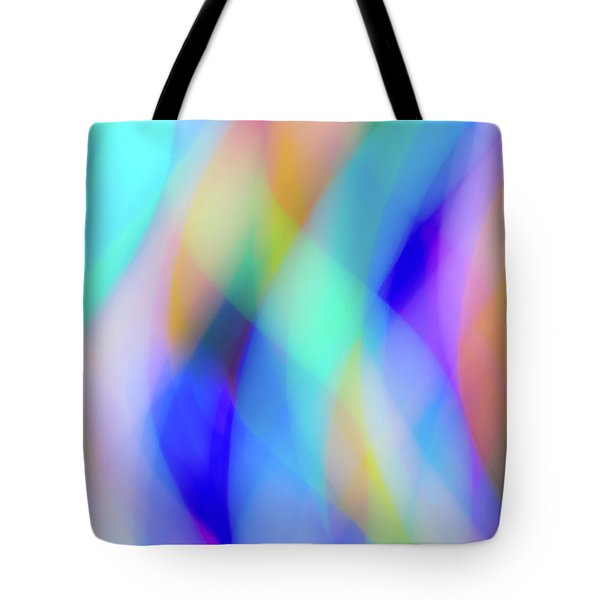 Flames Of Iridescence Tote Bag