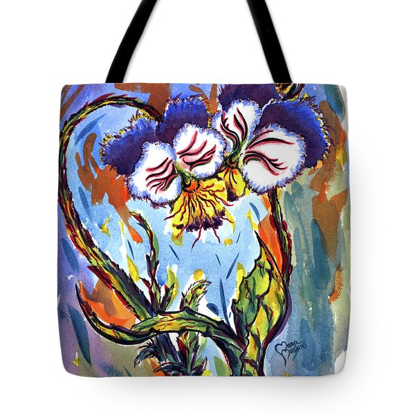 Flames Of Love Tote Bag