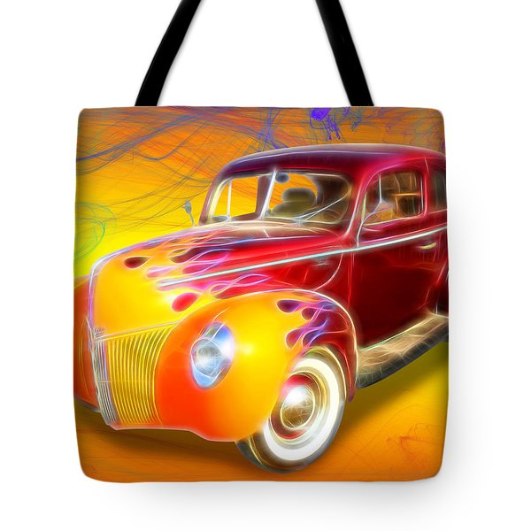 Flamin' '40 Tote Bag