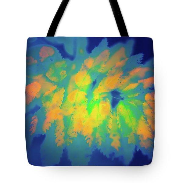 Flaming Foliage 2 Tote Bag