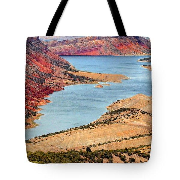 Flaming Gorge Tote Bag