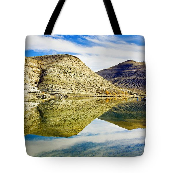 Flaming Gorge Water Reflections Tote Bag