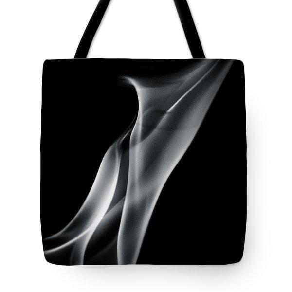 Flaming Twist Tote Bag