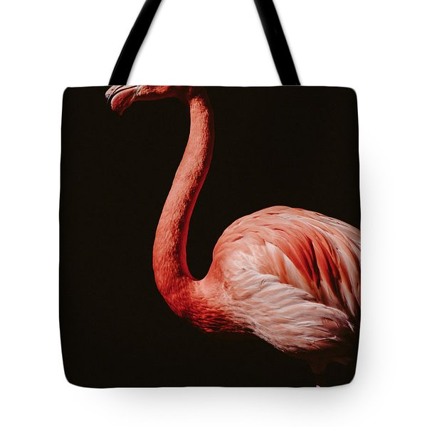 Tote Bag featuring the photograph Flamingo 7 by Andrea Anderegg