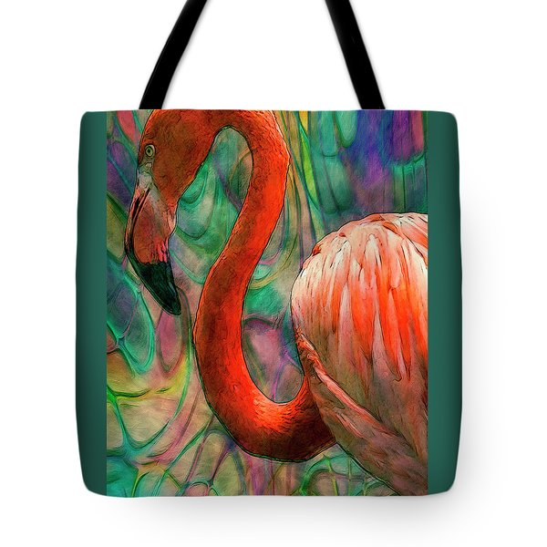 Flamingo 7 Tote Bag