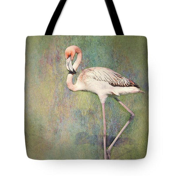 Flamingo Dancing Tote Bag