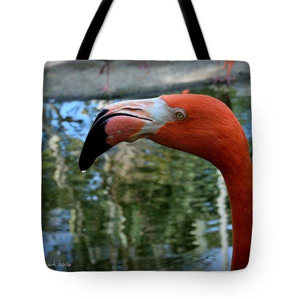 Flamingo Tote Bag by Edgar Torres