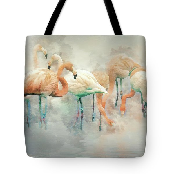 Flamingo Fantasy Tote Bag