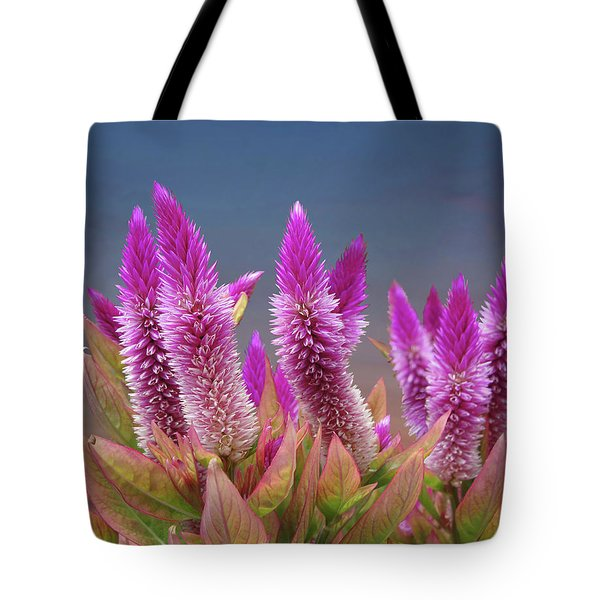Flamingo Feather  Tote Bag