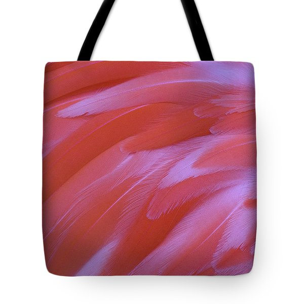 Tote Bag featuring the photograph Flamingo Flow 2 by Michael Hubley