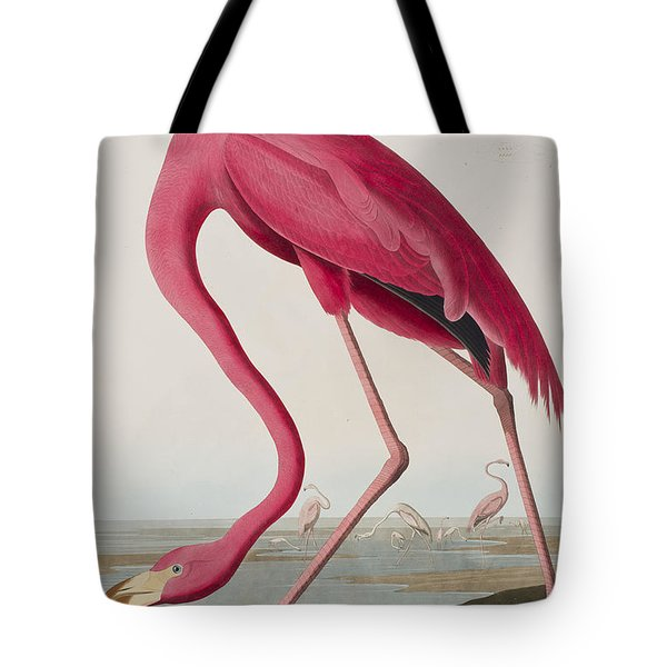 Flamingo Tote Bag by John James Audubon