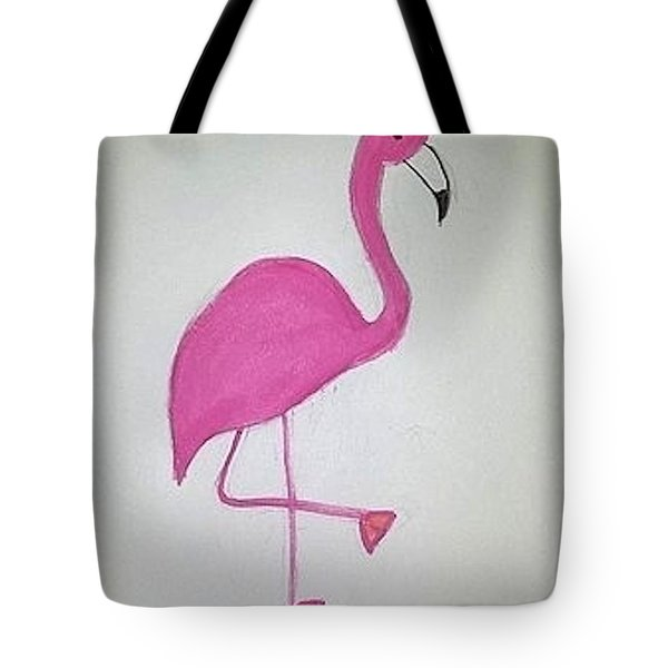 Flamingo Pink Tote Bag