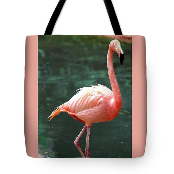 Flamingo Single Flamingle Tote Bag
