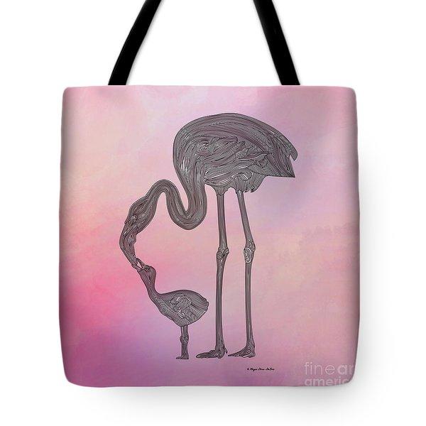 Flamingo6 Tote Bag