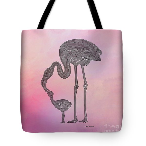 Flamingo6 Tote Bag