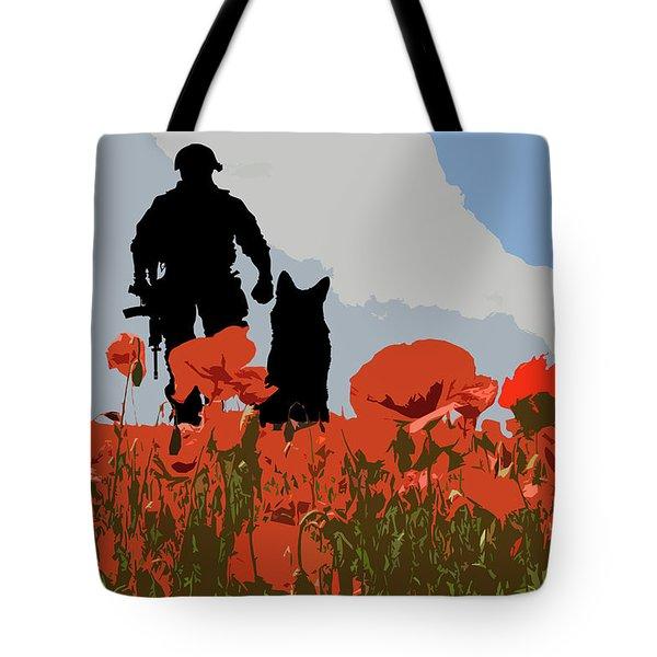 Flanders Fields 10 Tote Bag