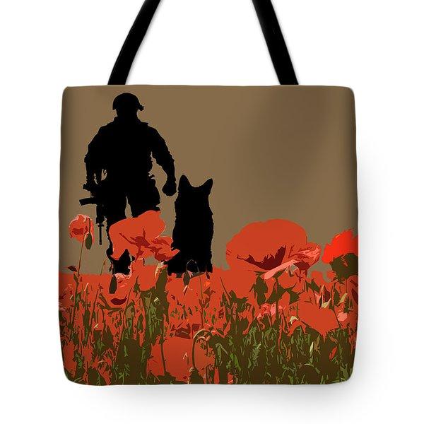Flanders Fields 11 Tote Bag