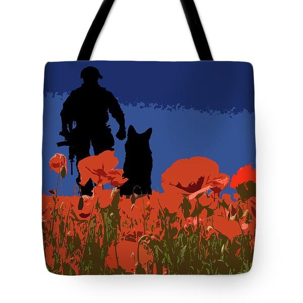 Flanders Fields 12 Tote Bag