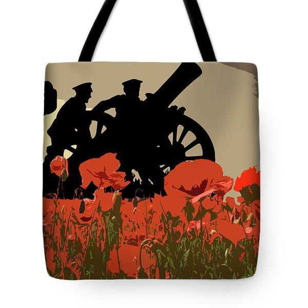 Flanders Fields 3 Tote Bag