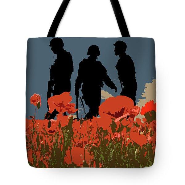 Flanders Fields 5 Tote Bag