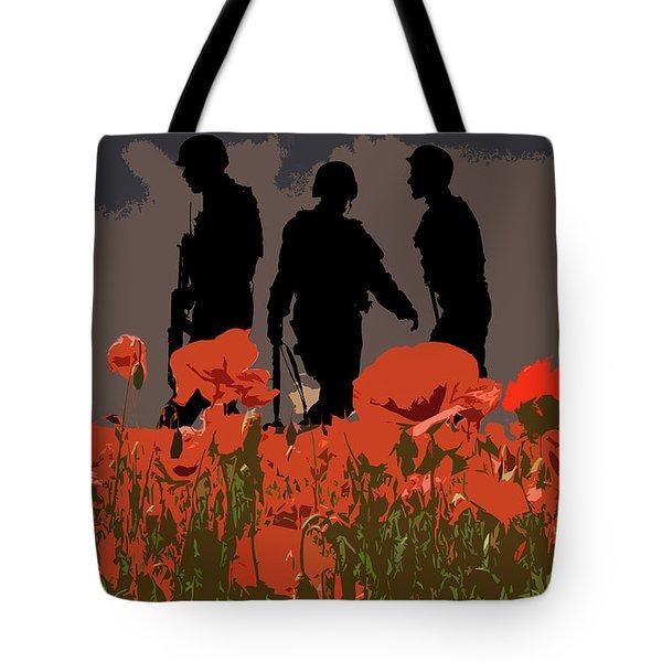 Flanders Fields 6 Tote Bag