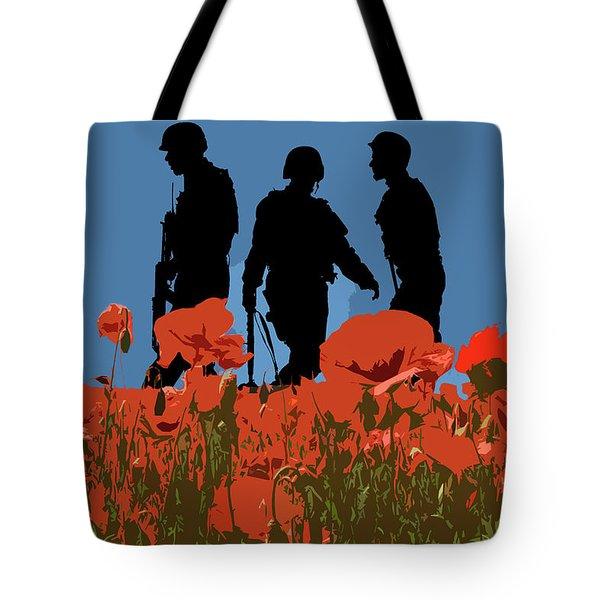 Flanders Fields 8 Tote Bag