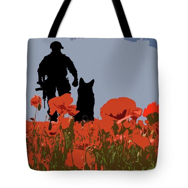 Flanders Fields 9 Tote Bag