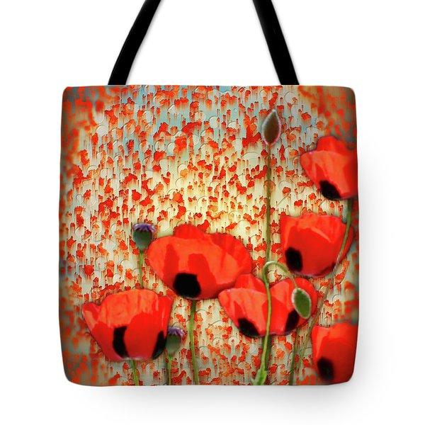 Flanders Fields Tote Bag