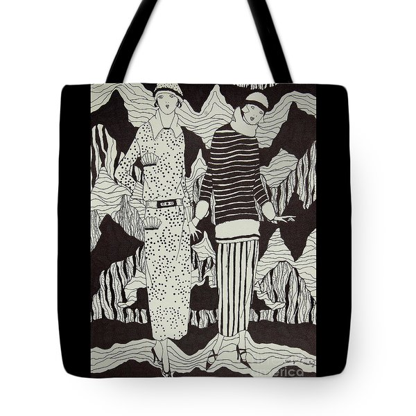 Flapper Girls Tote Bag