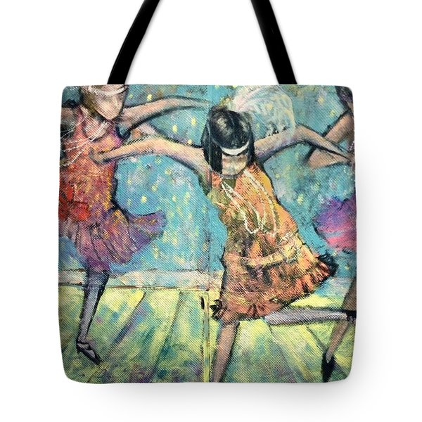 Flappers Tote Bag
